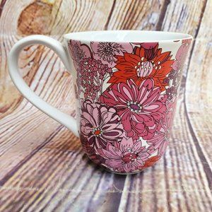 Liberty of London for Target Floral Pink & Red Mug